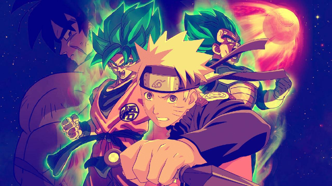 Fanart unites the best of two universes in these drawings of Dragon Ball and Naruto | Spaghetti Code