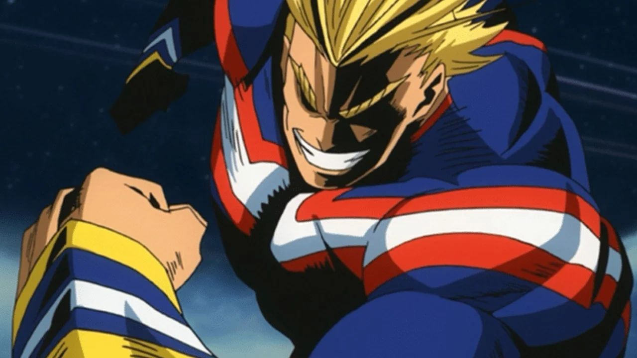 1628552618 My Hero Academia All Might female cosplay turns the mighty