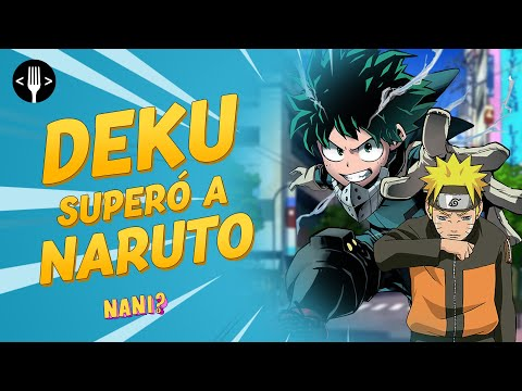 Deku from My Hero Academia is much better than Naruto ... accept it   NANI ?!