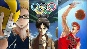 Anime themes such as Haikyu !!, Attack on Titan, and Slam Dunk were heard at Olympic competitions