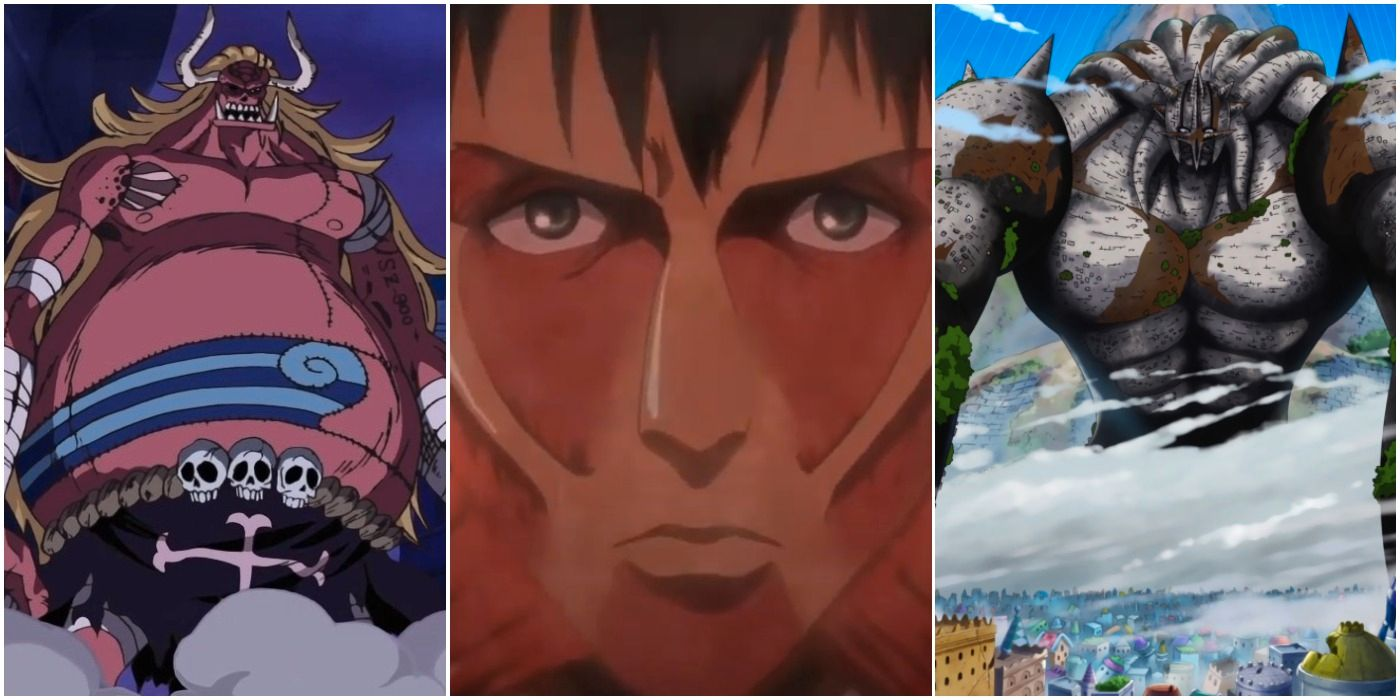 Attack On Titan: 5 One Piece Characters Bertholdt Could Defeat (& 5 He Couldn't)
