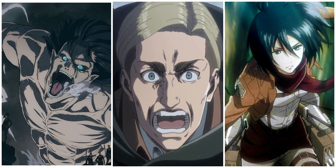 Attack on Titan: the 10 most fearless characters, ranked