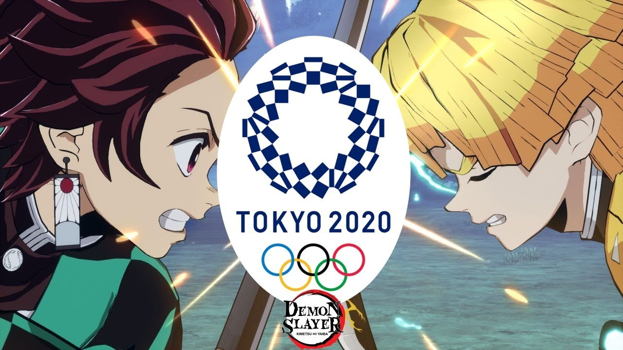 Demon Slayer also drops by the 2020 Tokyo Olympics with