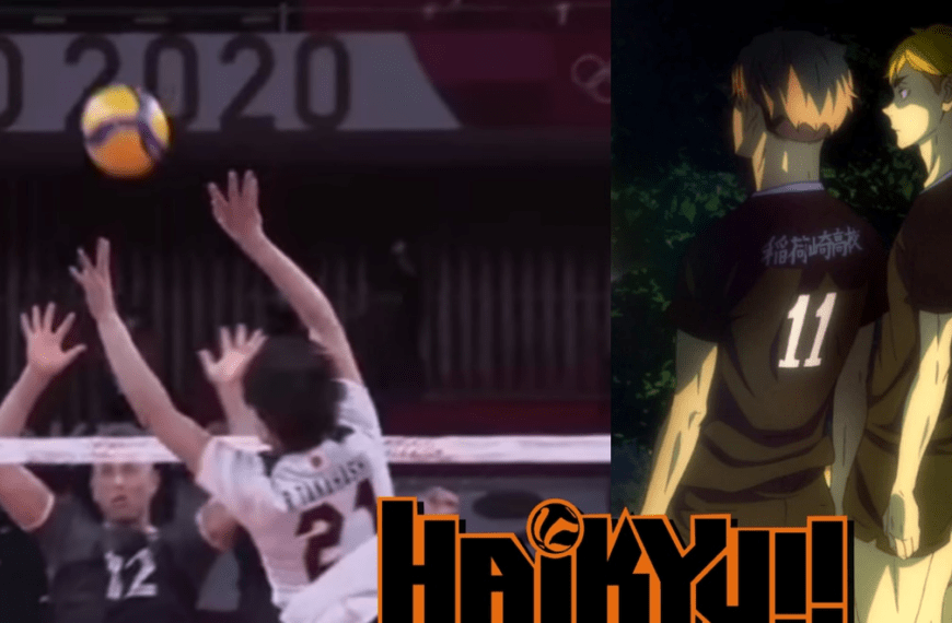 Haikyuu: the impressive move of the anime that became reality in Tokyo 2020