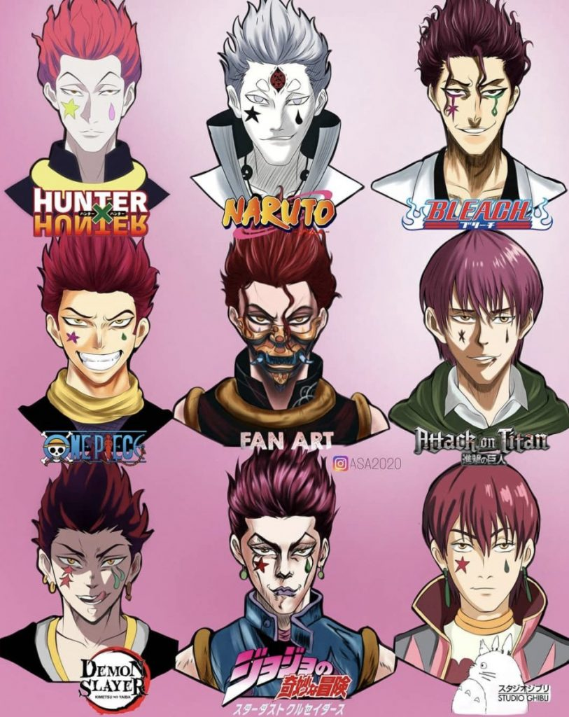 Hunter x Hunter This is what Hisoka would look like