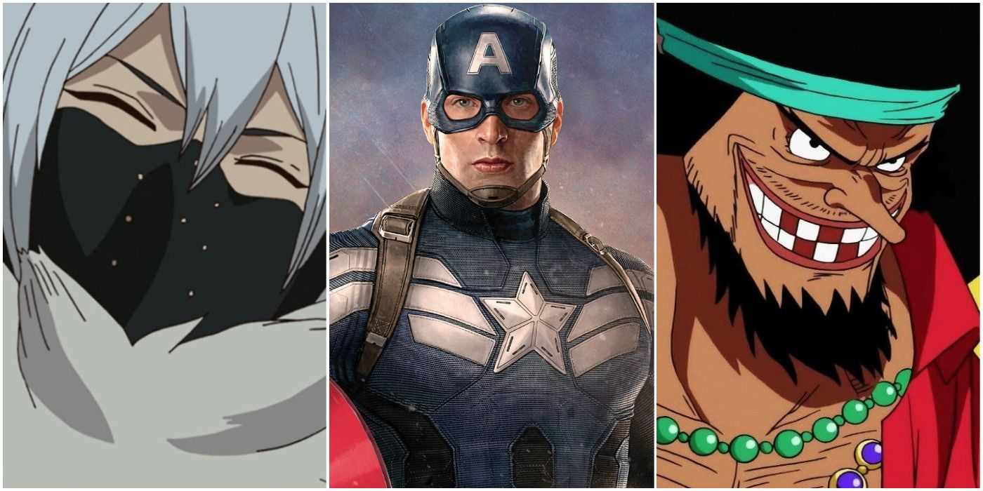 MCU: 5 anime villains Captain America could beat (& 5 he'd lose to)