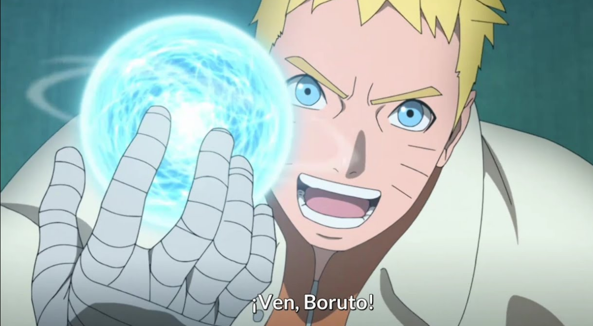 Naruto Boruto couldnt beat his father in exciting showdown