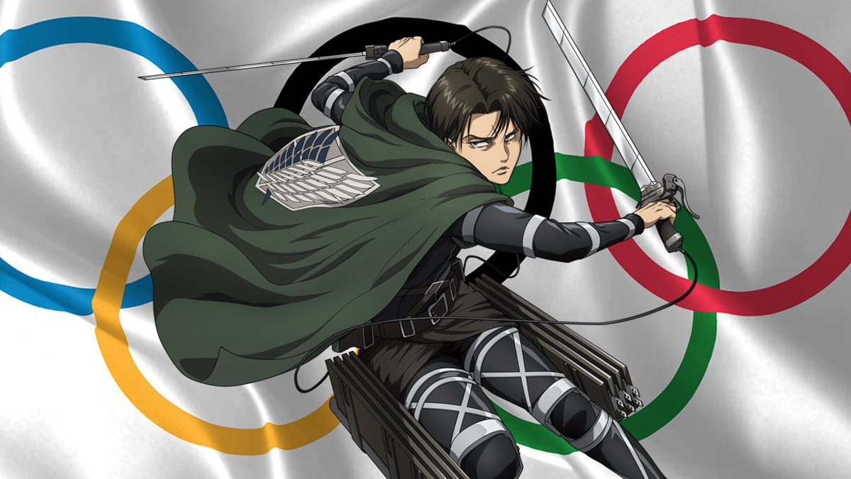 Shingeki no Kyojin opening inspires archery participants at the Olympics