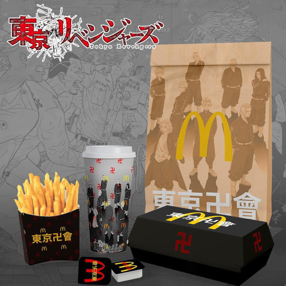 This is how they imagine Tokyo Revengers collaboration with McDonald's