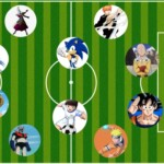 What would be the ideal 11 from anime and manga ?: Mazinger Z, Naruto, Goku and more