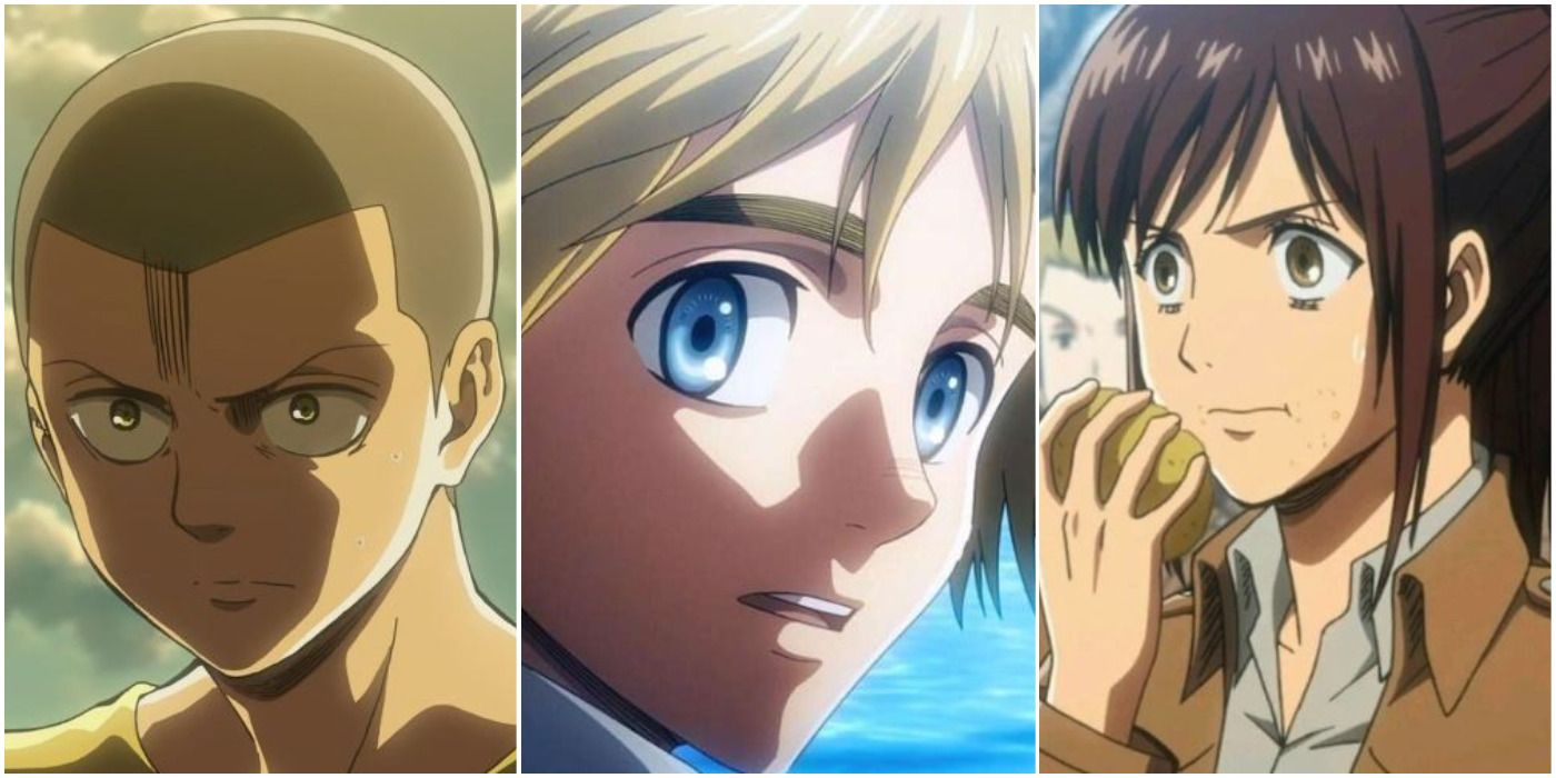 Attack On Titan: 10 Kindest Characters In The Series