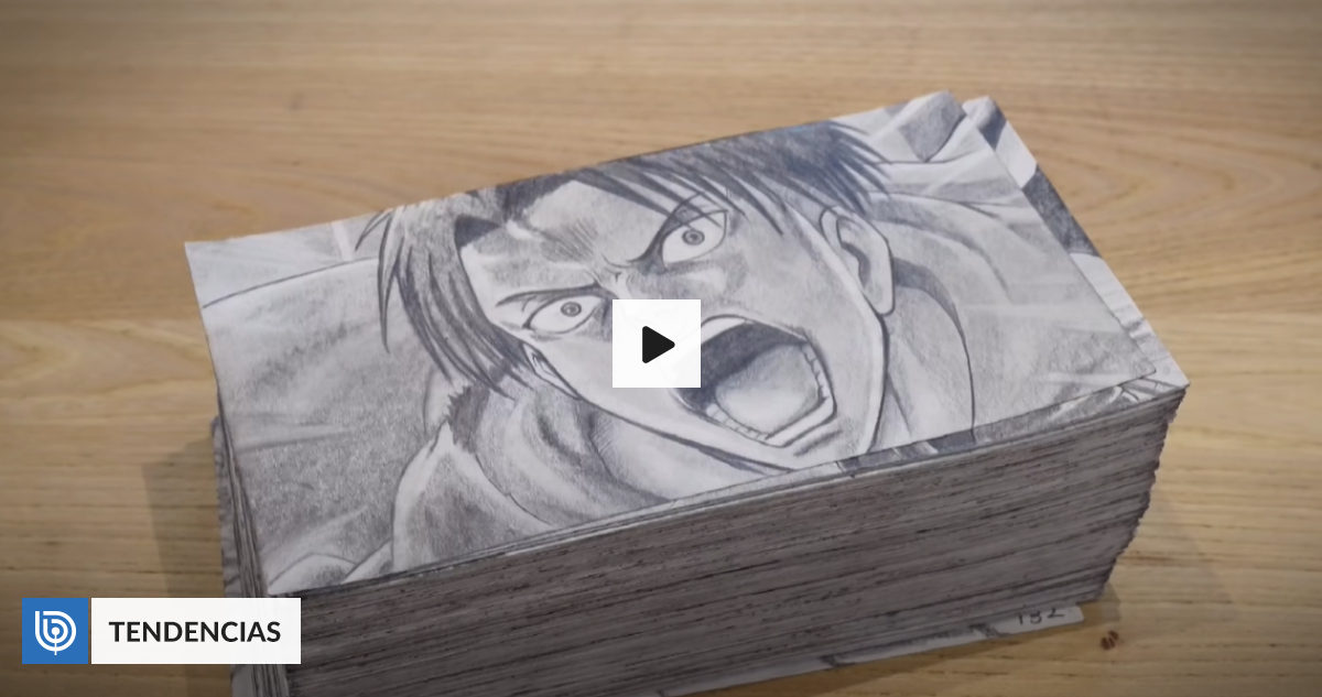KENNY Youtuber hand recreated Levi Ackermans memorable scene in Attack on