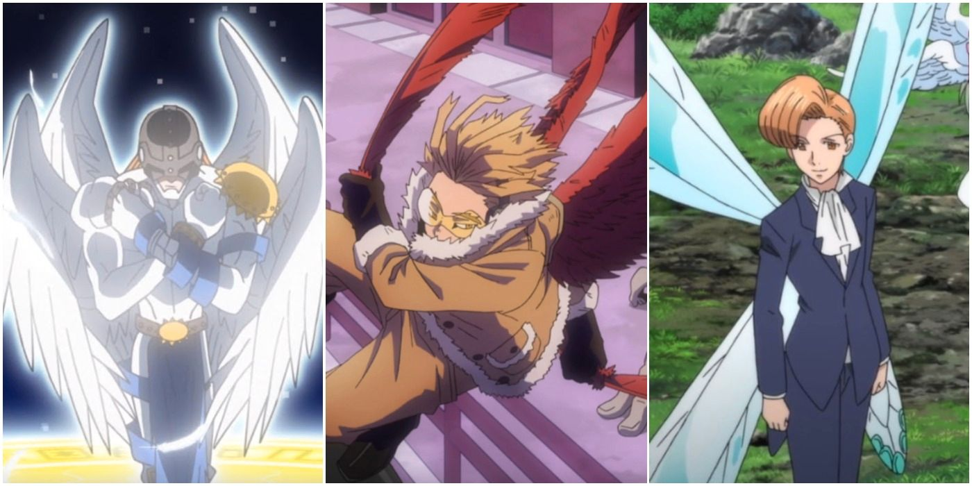 MHA: Hawks and 9 other winged anime heroes with the power to fly