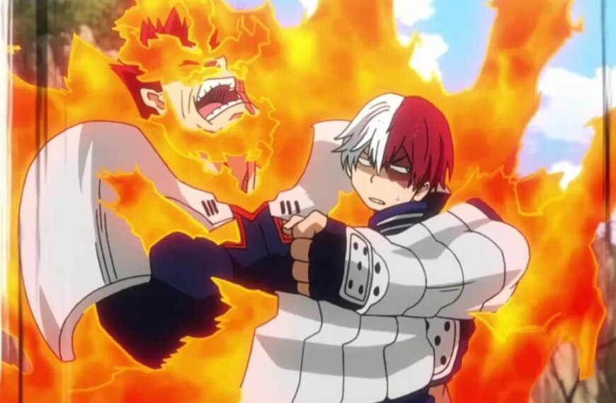 Shoto Todoroki from My Hero Academia, 5 differences and 5 similarities with Endeavor