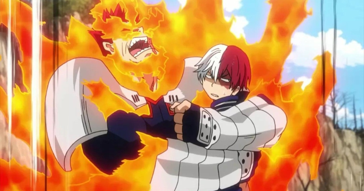 Shoto Todoroki from My Hero Academia 5 differences and 5