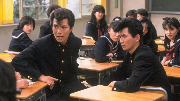 """Movie based on the manga """"Be-Bob High School"""", which helped popularize the Yankii in fiction. (Photo: Central Arts)"""