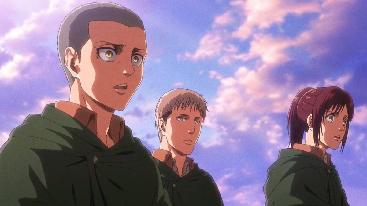 1634314030 Sasha Jean and Connie from Attack on Titan would look