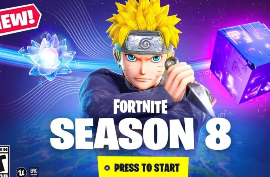 Naruto could be coming to Fortnite sooner than you think