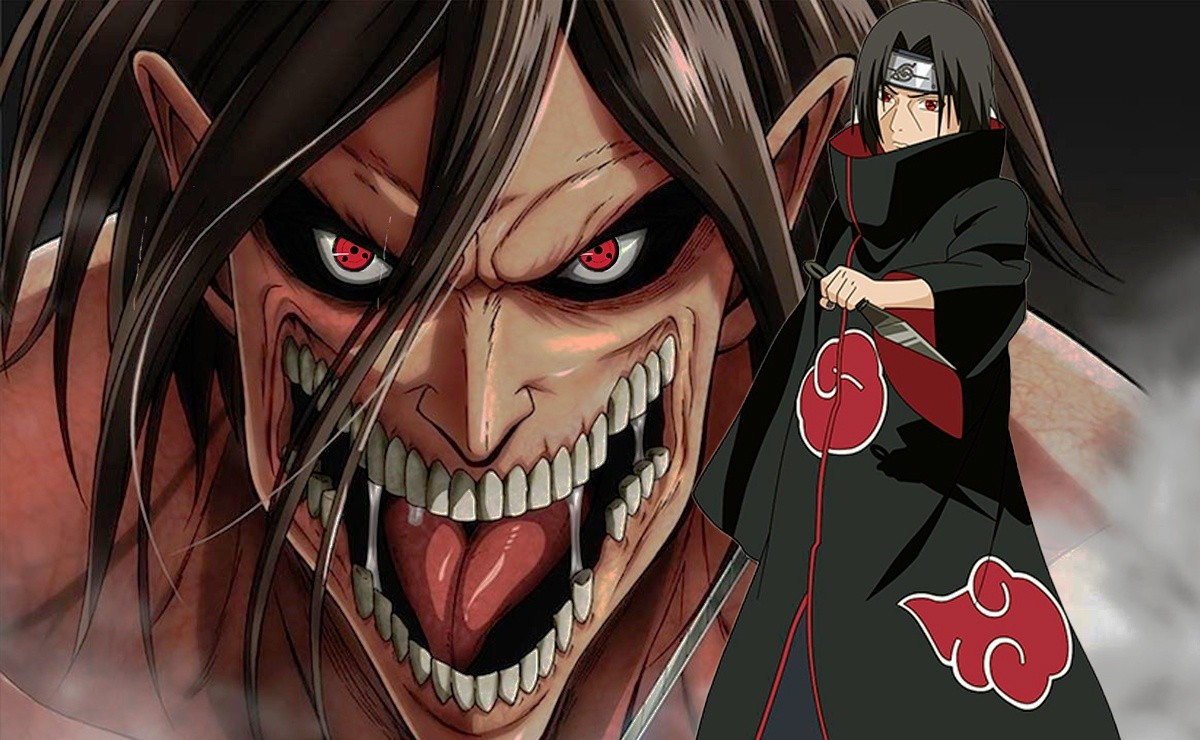 A fan creates the best crossover of Naruto and Shingeki