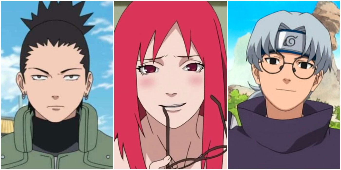 Naruto 8 characters that would be the perfect match for