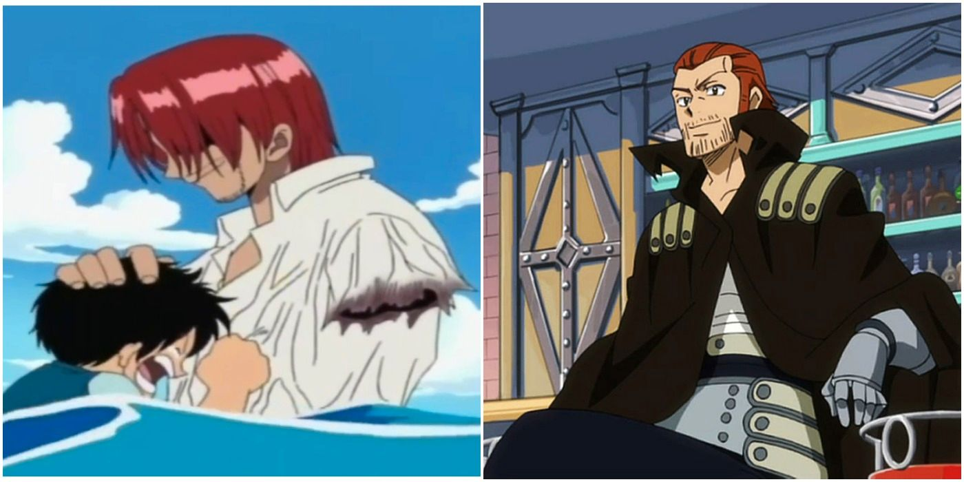 One Piece 5 Ways Shanks Is Exactly Like Gildarts From