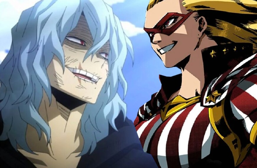 Star and Stripe could lose to Shigaraki from My Hero Academia