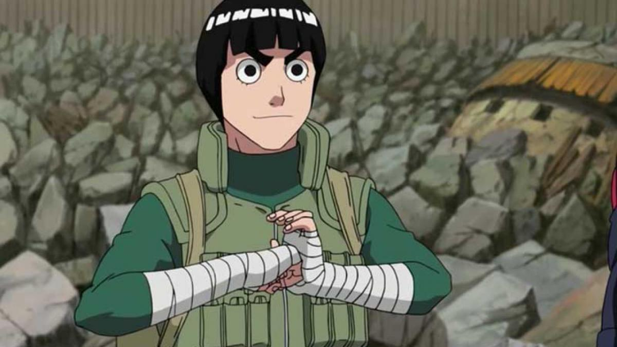 The power of youth This would be Narutos Rock Lee